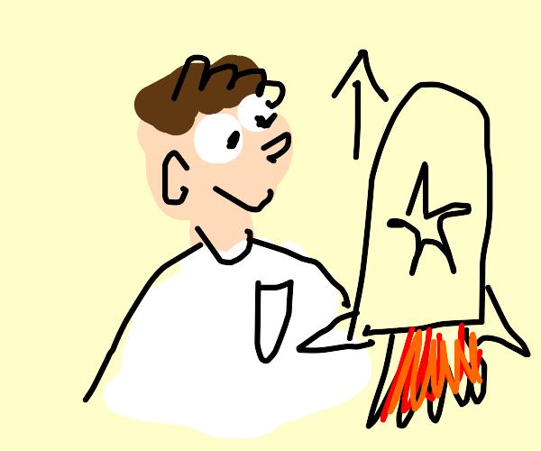 peter griffin rocket