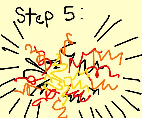 Step 5: the Bomb still explodes