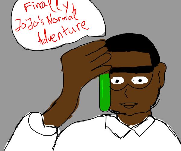 Scientist finds Jojo's Normal Adventure