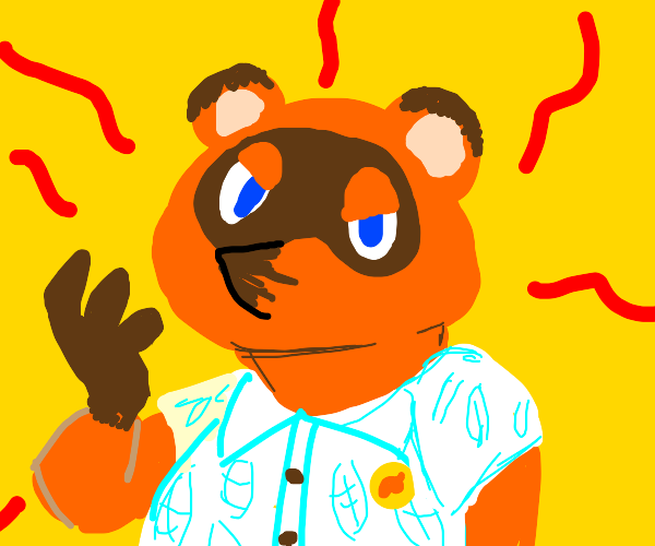 TOM NOOK IS IN CONTROL NOW!!!