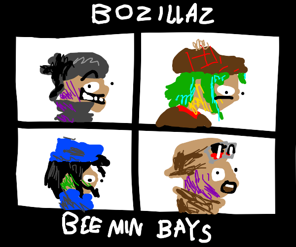 knockoff gorillaz demon days album