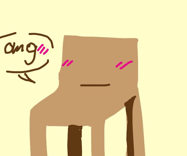 Blushing chair