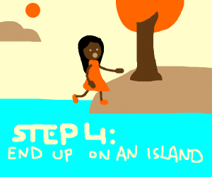 step 3: get lost in the sea