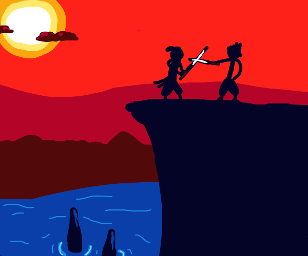 Clifftop Samurai Duel