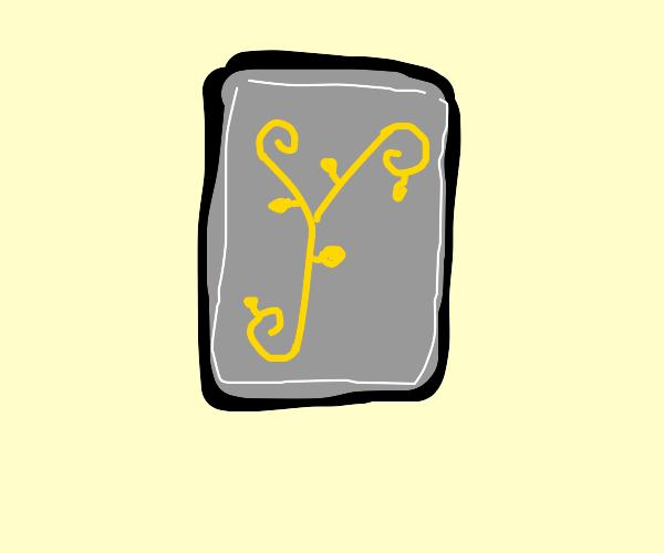 a y ( tree thing ) card
