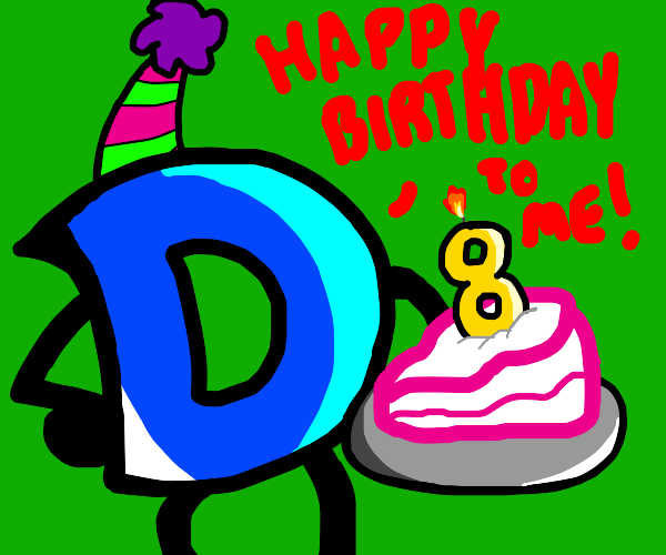 Happy birthday drawception!
