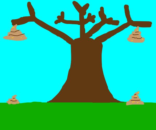 poop tree