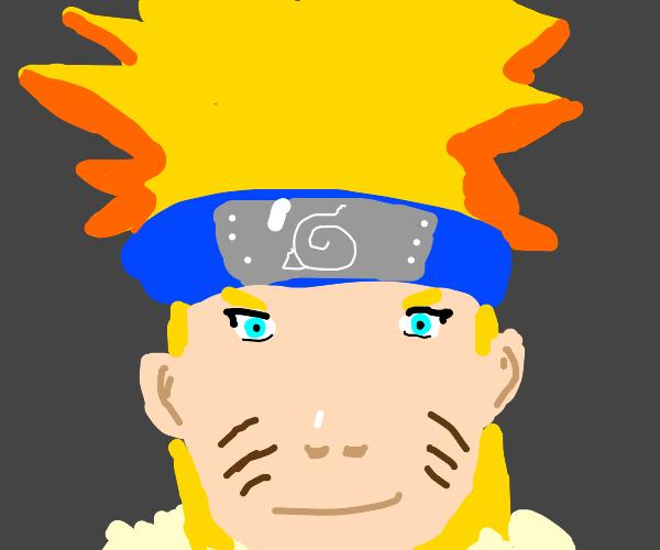 Close up of Naruto Uzumaki