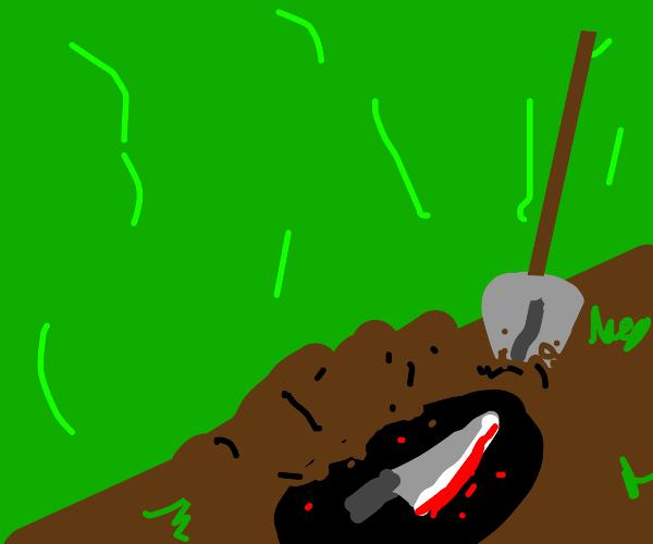 Burying the Murder Weapon
