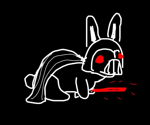 Killer Darth Vader bunny