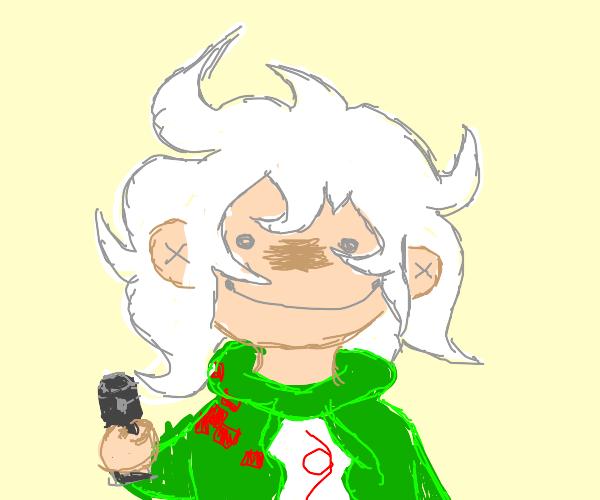 Nagito holds you hostage