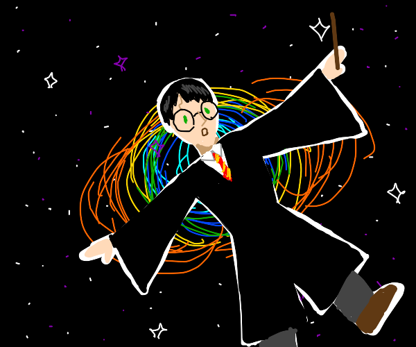 Wizard in space