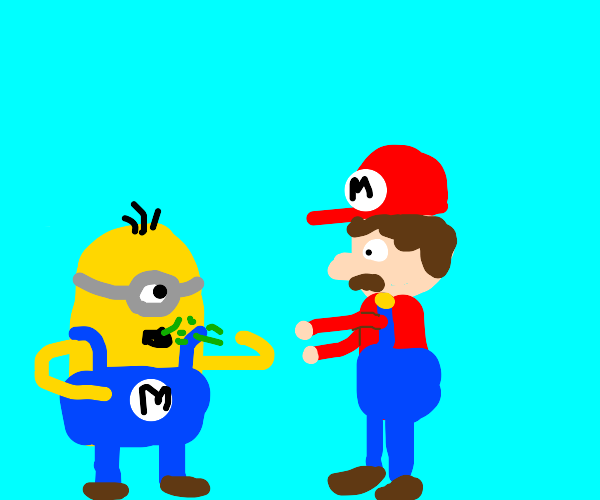 Mario ' s minion is dying of the rona