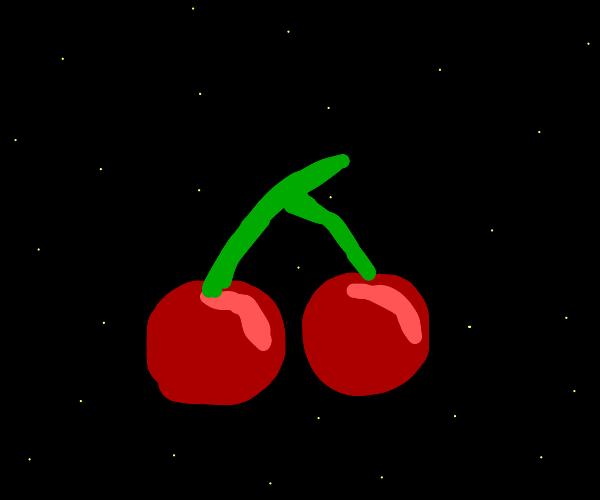 Cherries at night