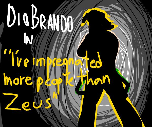 Dio brando gets his own movie