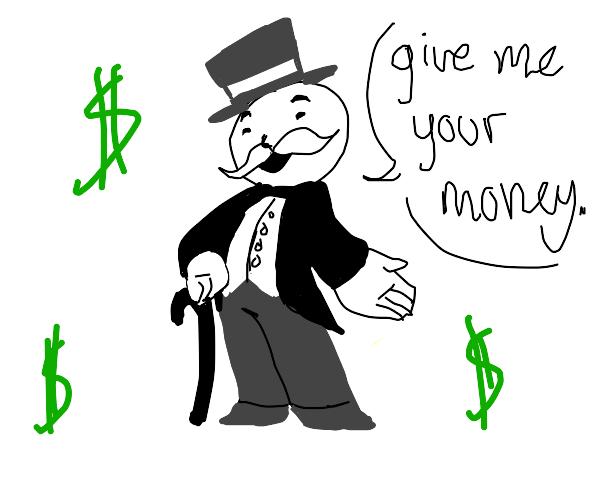 monopoly salesman