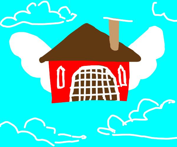 A flying barn