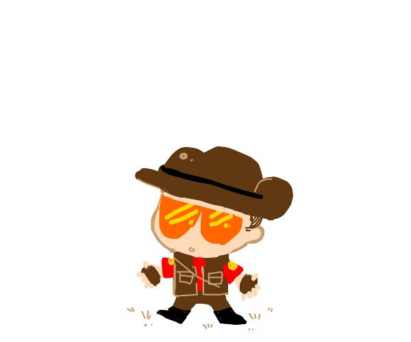 chibi character/oc