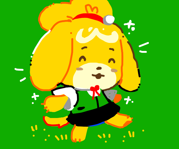isabelle... animal crossin'