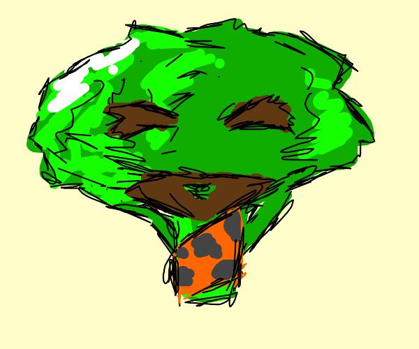 broccoli caveman