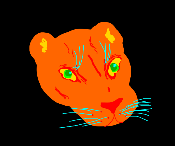 Abstract Cougar