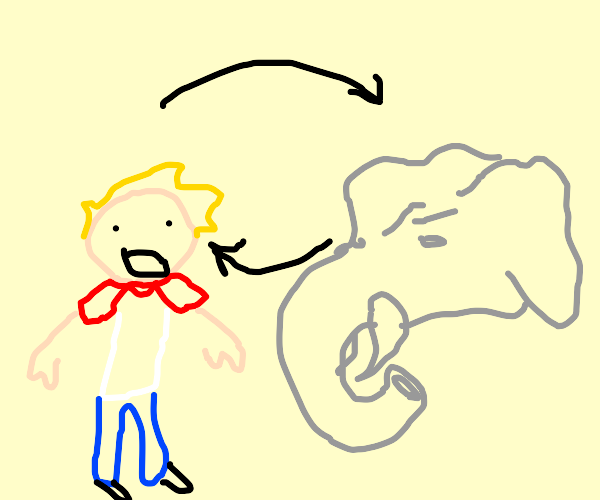Trading bodies with an elephant