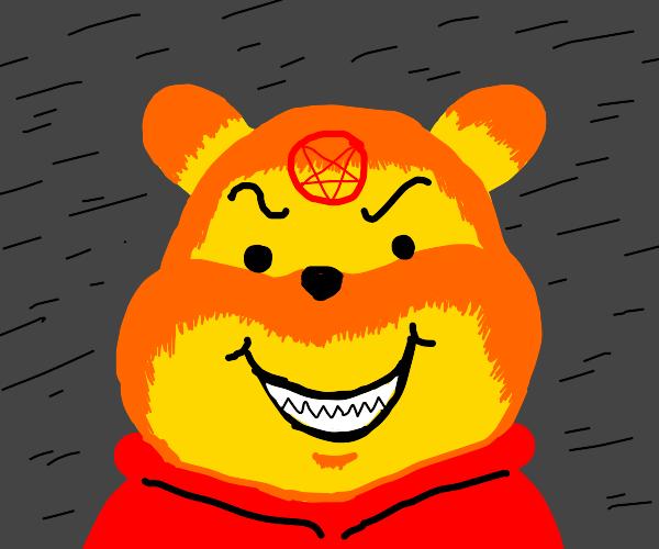 Winnie converts to Satanism