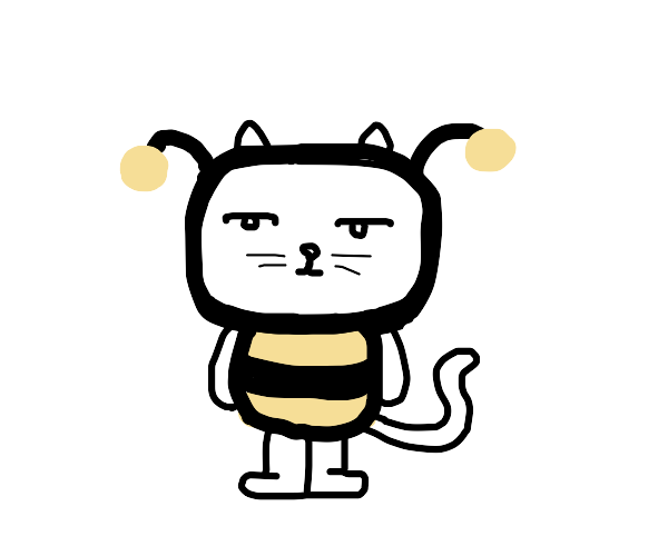 Cat beebuzz