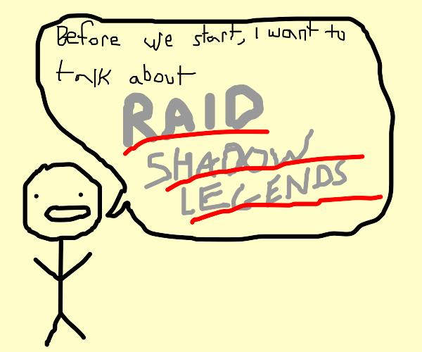Raid shadow legends advertisement