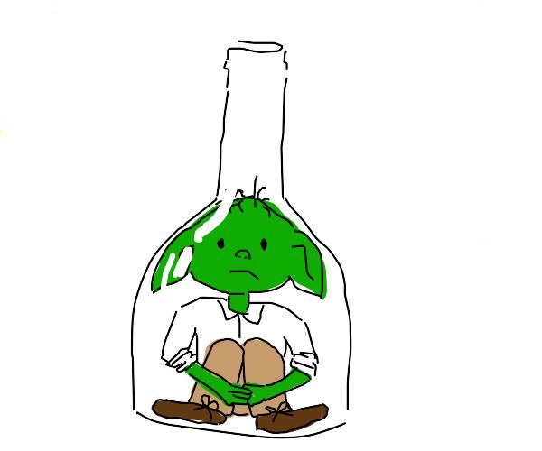 goblin in a bottle