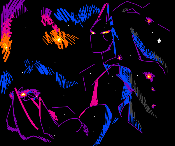 King of all cosmos