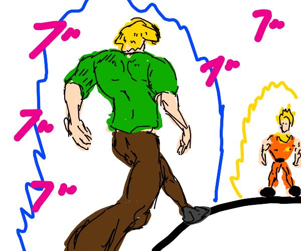 shaggy vs goku