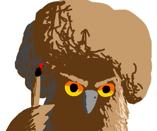 Owl Bob Ross