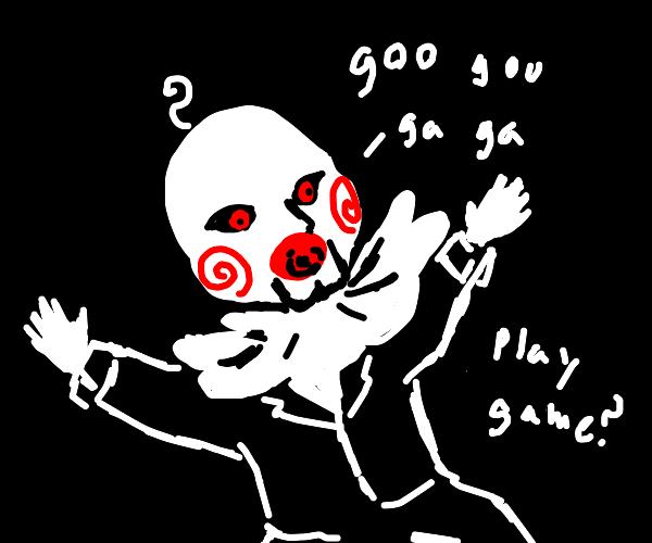 Jigsaw as a baby