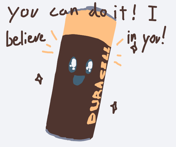 battery gives you motivation