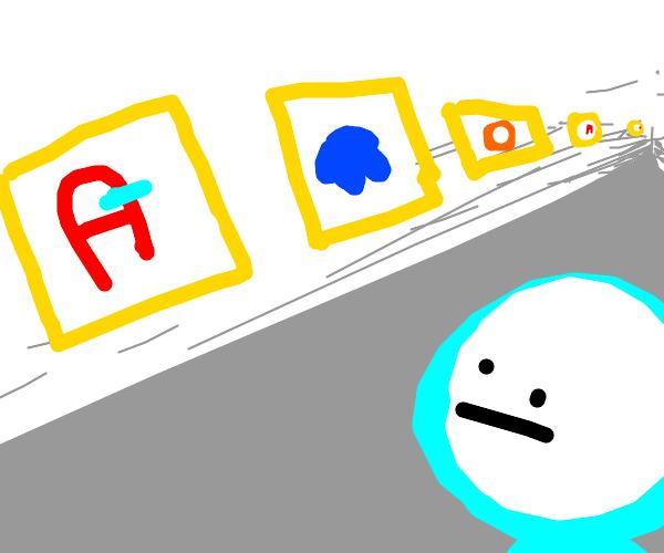 amogus art gallery