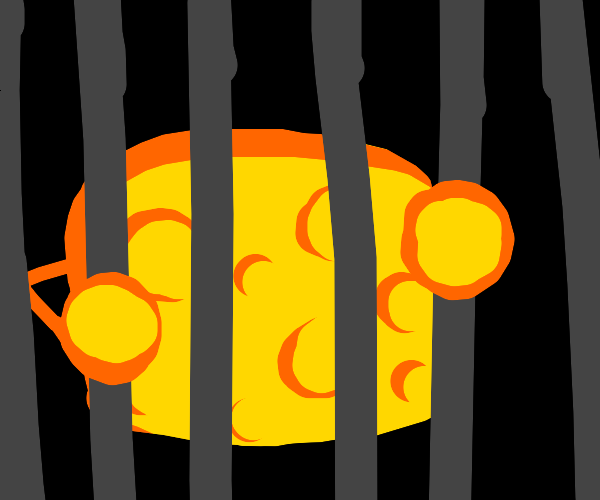 Imprisoned Cheese