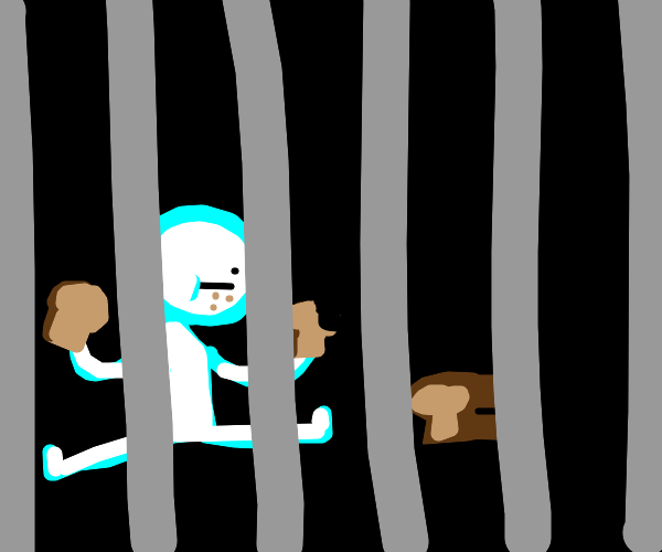 man can only eat bread in prison