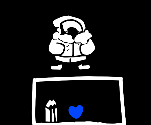 drawception is sans undertale