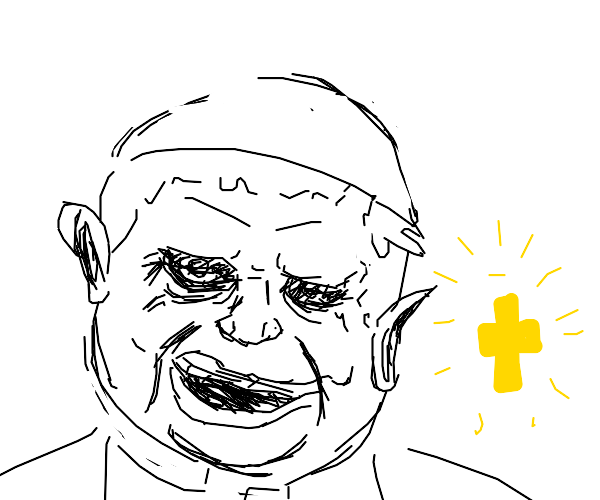 sinister pope