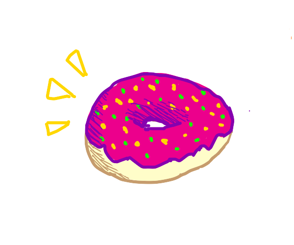 Frosted Donuts (YUM!)