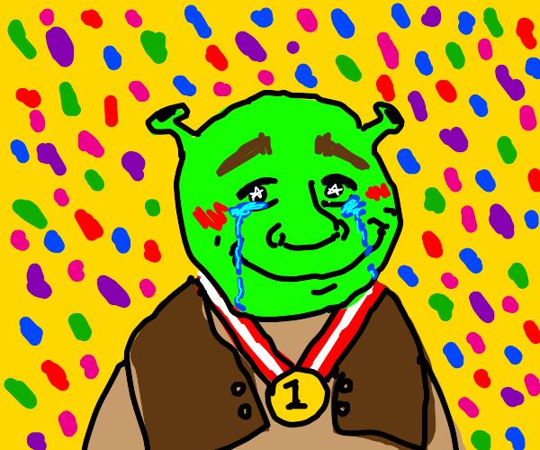Shrek wins Olympics