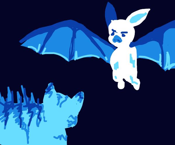Ice cat vs Ice bat