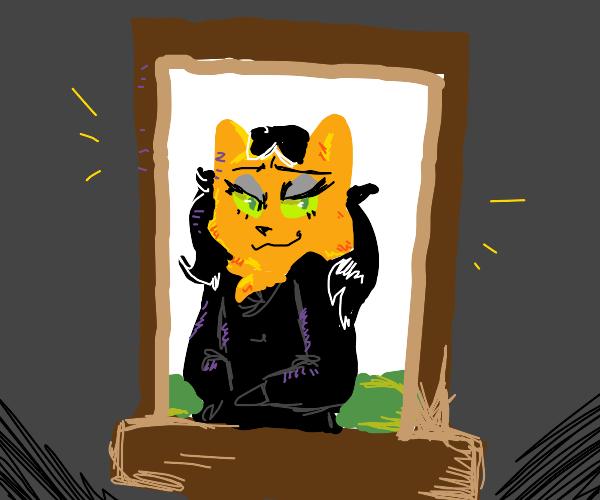 Catty Mona Lisa