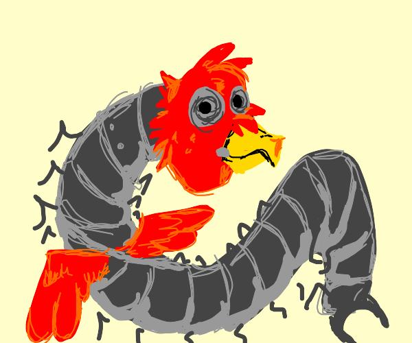 Robot bird centipede (bruh I might be stupid)