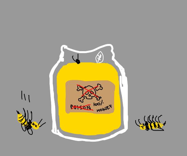 Poison honey