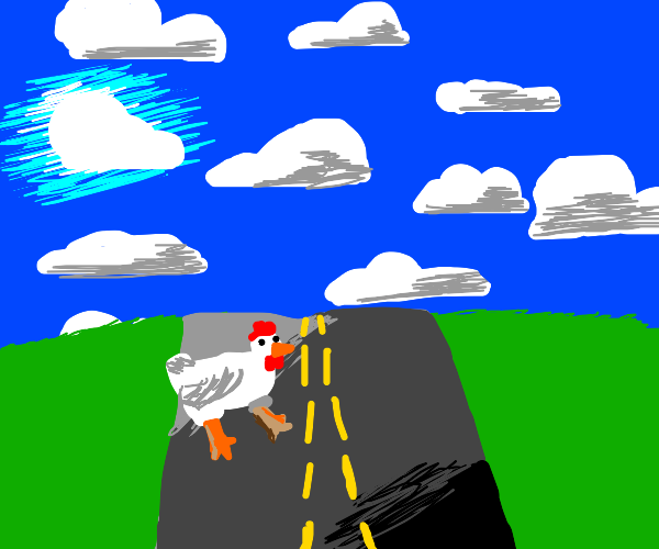 chicken crossin' the road