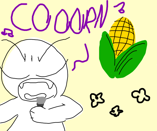 angry boi sings about corn