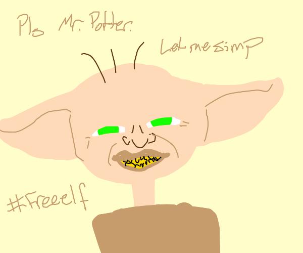 Simp Dobby is a #freeelf