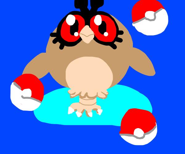 Scary owl Pokémon thing